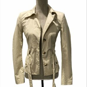 Mexx Short Tan Trench Coat